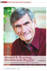 Marschall Rosenberg Biografie 2014 Kommunikation Seminar