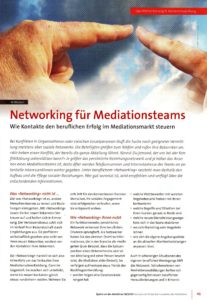 Networking Mediation Al Weckert